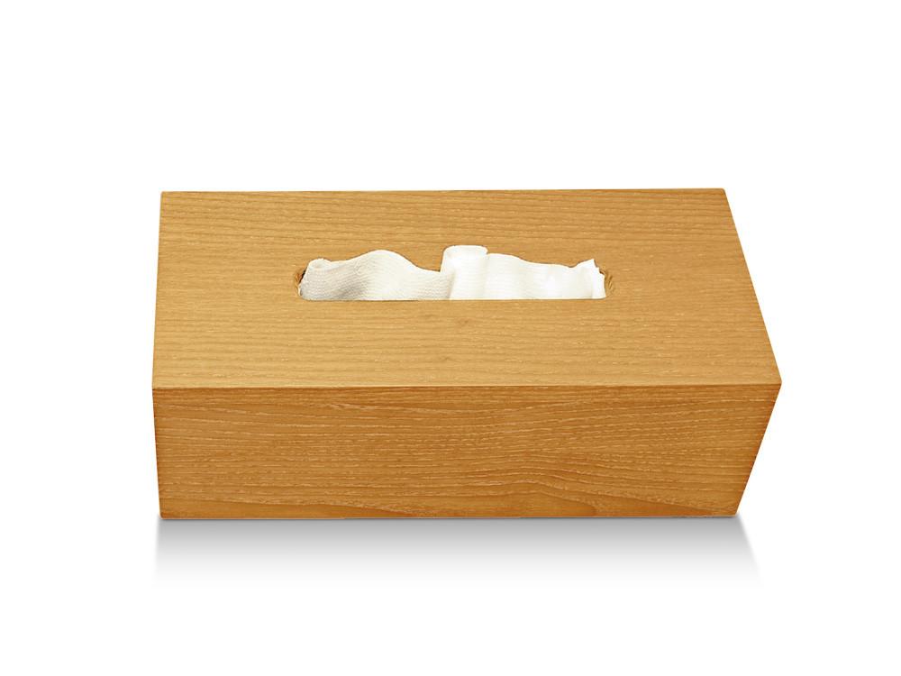 Pudełko na chusteczki nablatowe/ścienne Decor Walther WO KBB Wood Beech