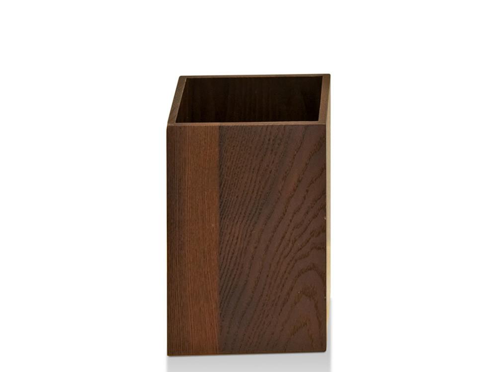 Kubek łazienkowy Decor Walther WO BEQE Wood Thermo-ash