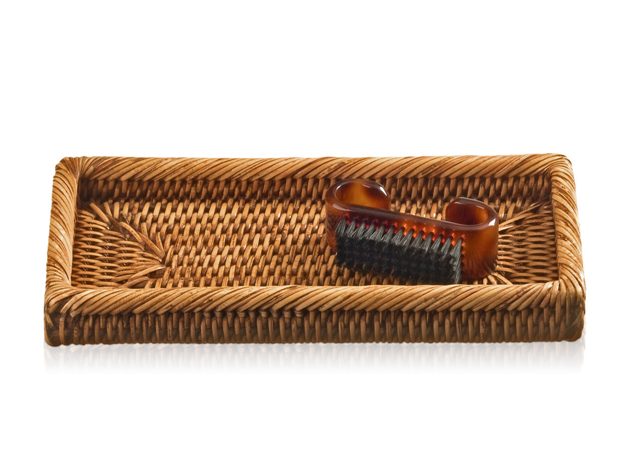 Tacka łazienkowa Decor Walther Basket KS Rattan Dark