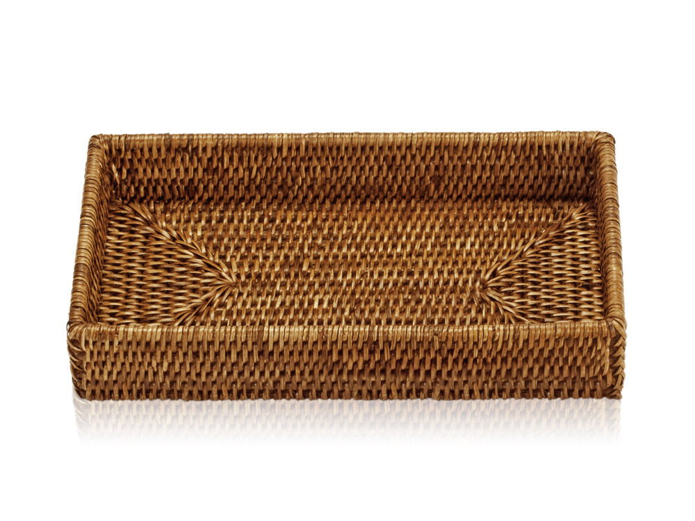 Tacka łazienkowa Decor Walther Basket TAB 2 Rattan Dark