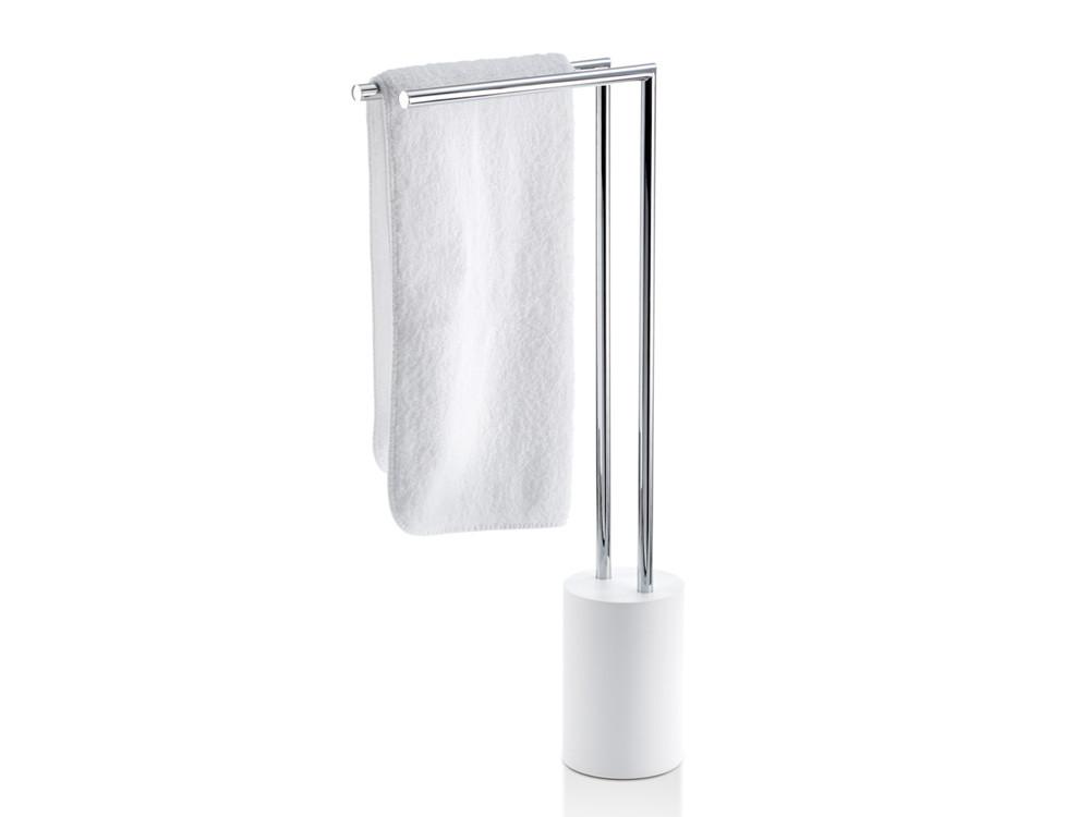 Stojak na ręczniki Decor Walther Stone HT 2 White Chrome