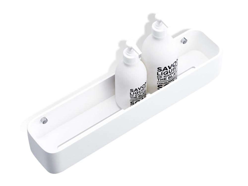 Półka pod prysznic ścienna Decor Walther Stone DCT 45 White Chrome