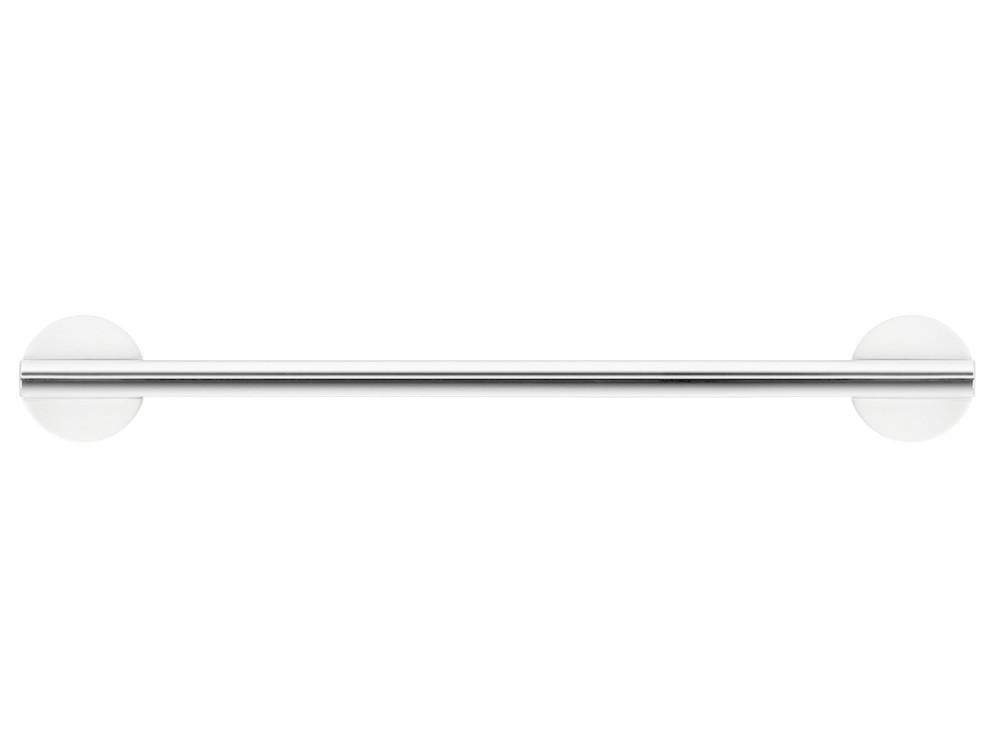 Wieszak/ reling na ręczniki Decor Walther Stone HTE30 White Silver Matt