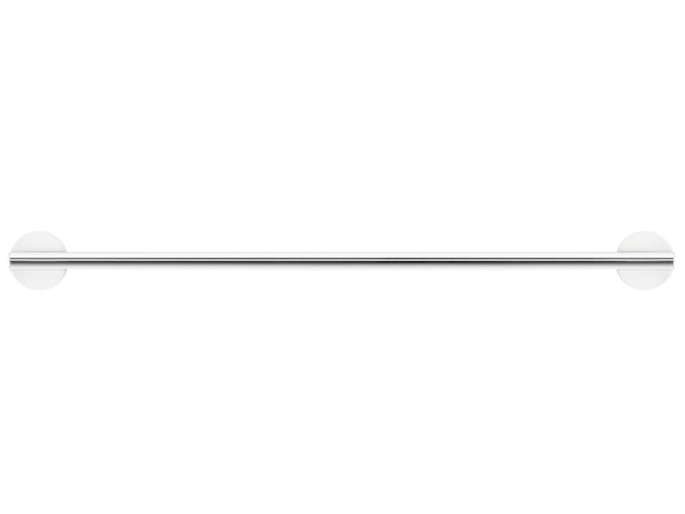 Wieszak/ reling na ręczniki Decor Walther Stone HTE45 White Silver Matt