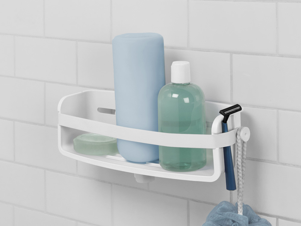 Półka ścienna pod prysznic Umbra Flex White