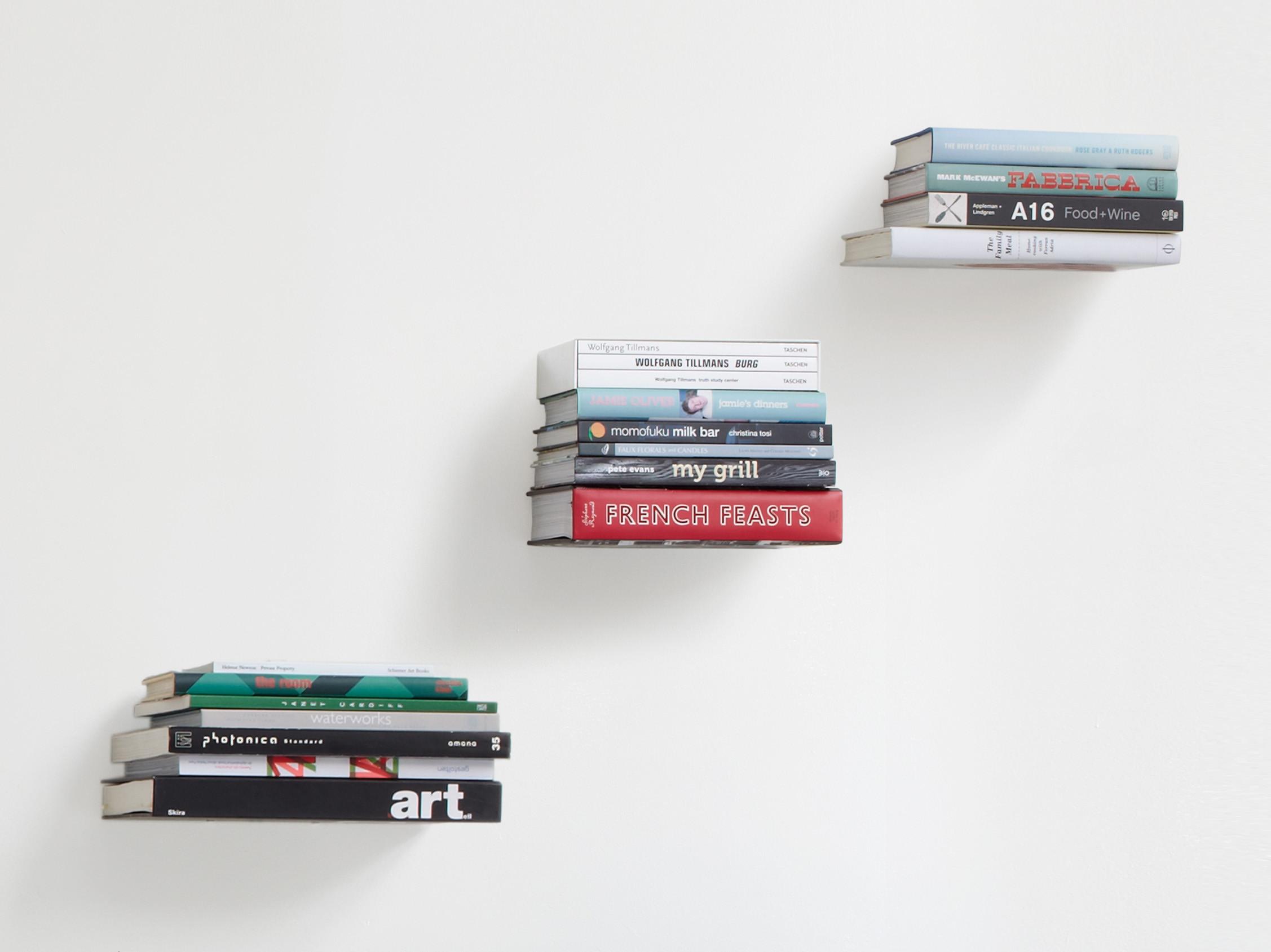 Półka na książki x3 Umbra Conceal 3-Pack Large Silver