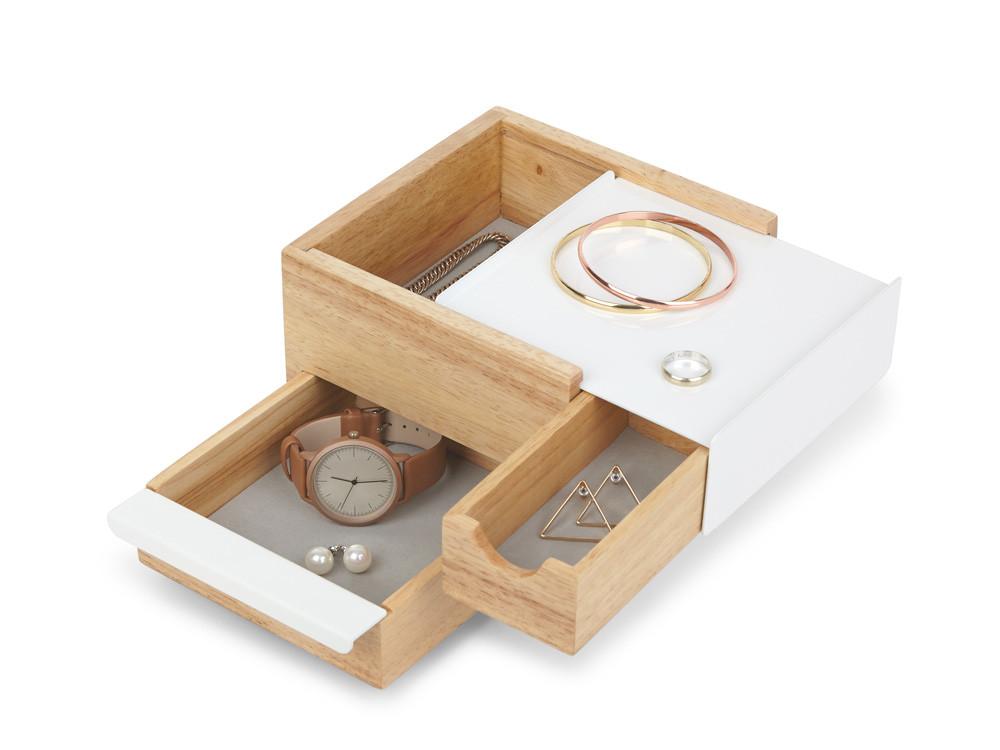 Pudełko na biżuterię Umbra Stowit Mini Natural