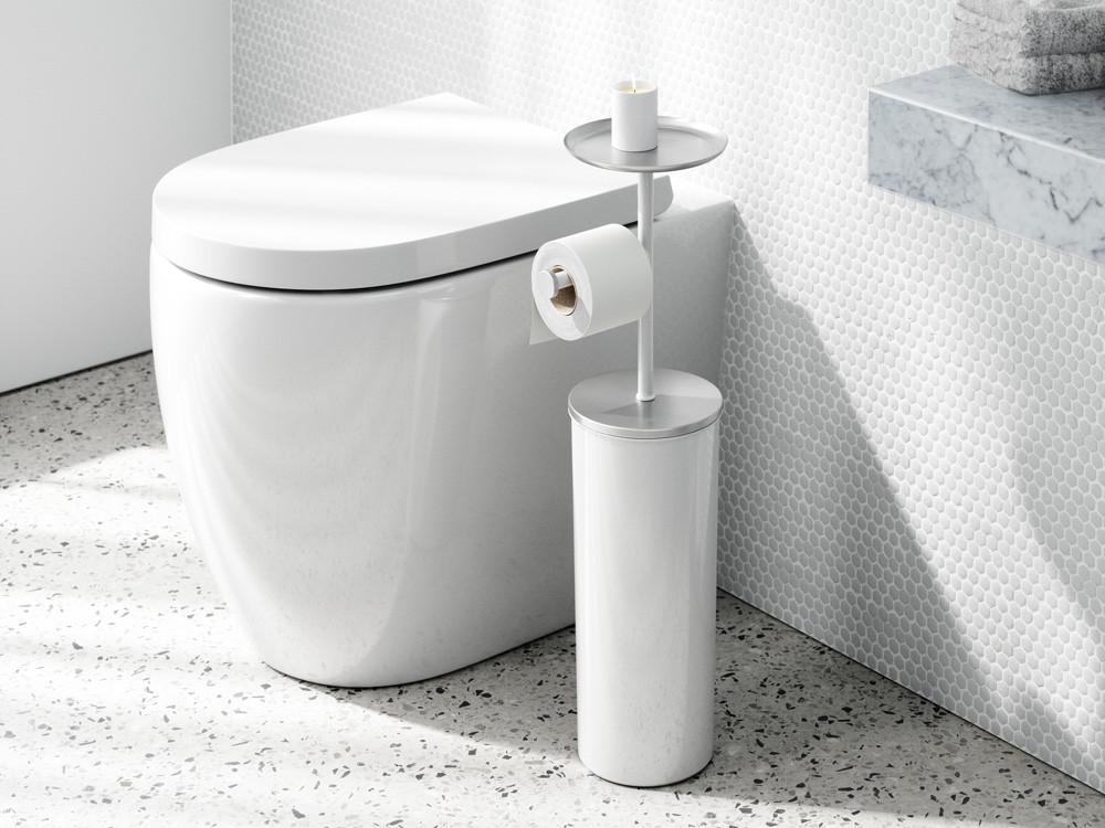 Stojak na papier toaletowy i pojemnik na zapas 2w1 Umbra Portaloo