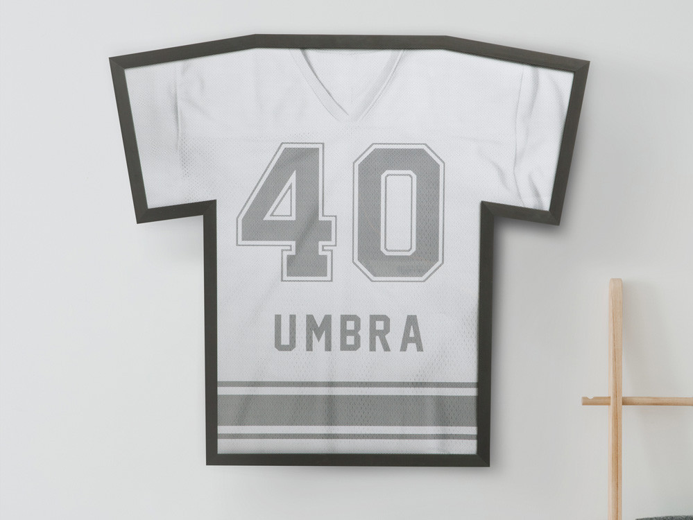 Ramka ścienna/ gablota na koszulkę Umbra T-Frame L Black