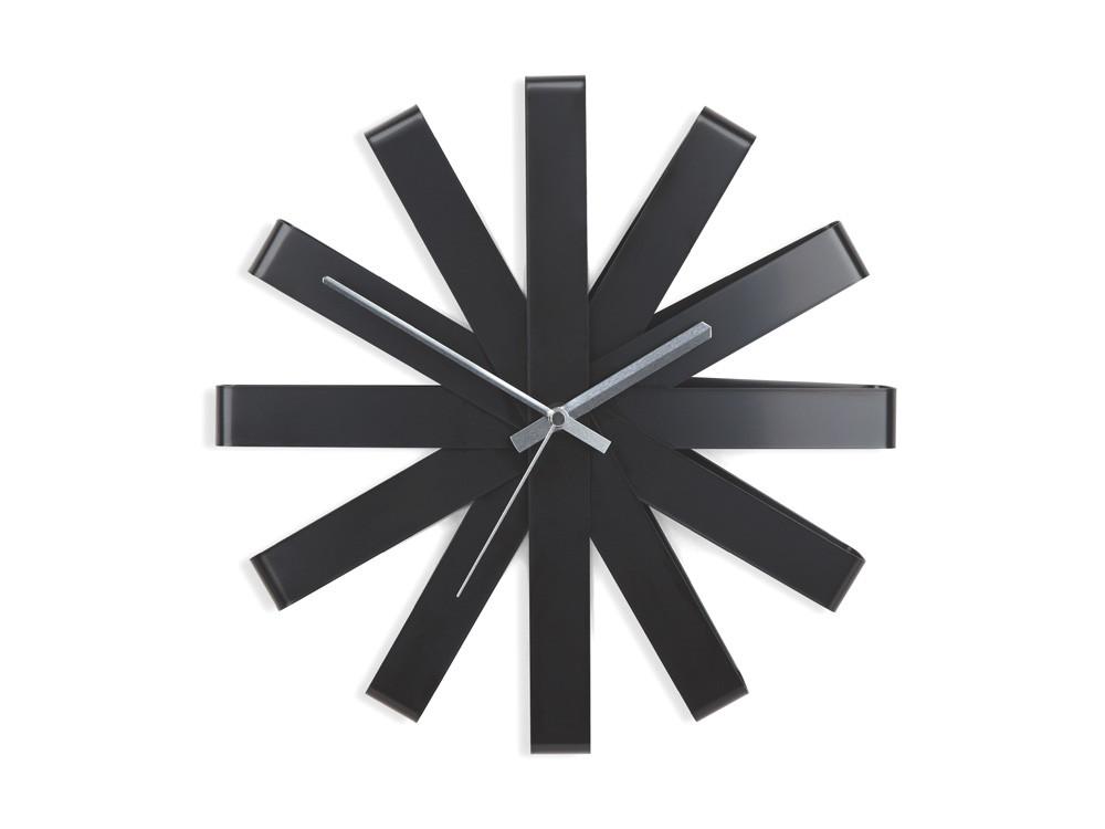 Zegar ścienny Umbra Ribbon Black