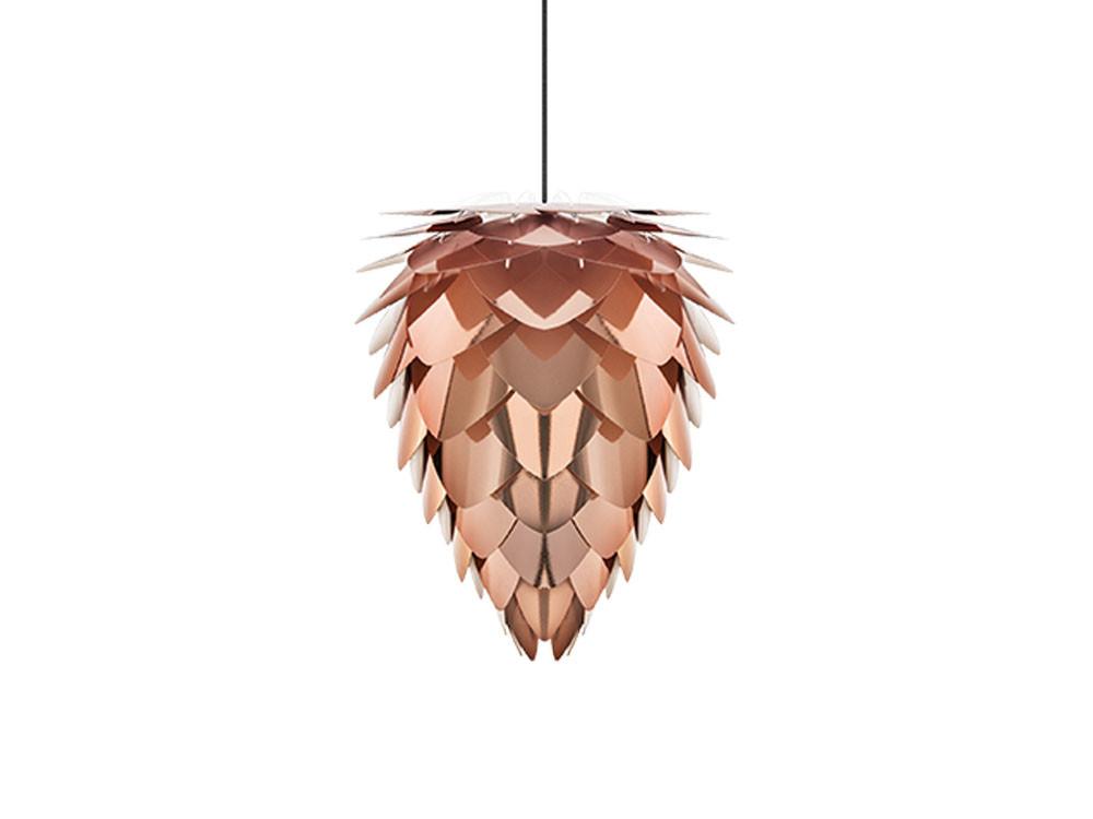 Lampa wisząca Umage Conia Copper 40 z czarnym zawieszeniem