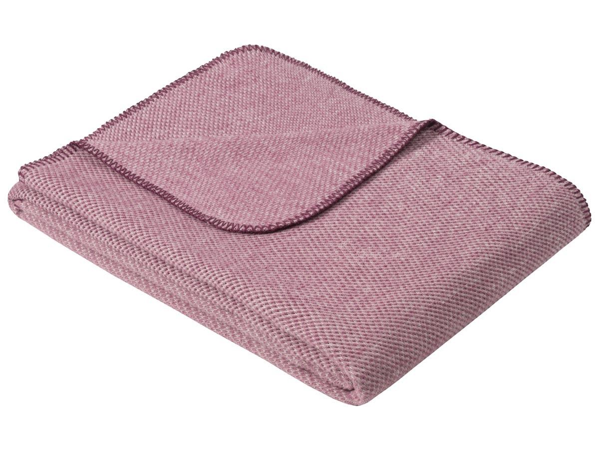 Koc Ibena Organic Wool Auckland Pink 140x200