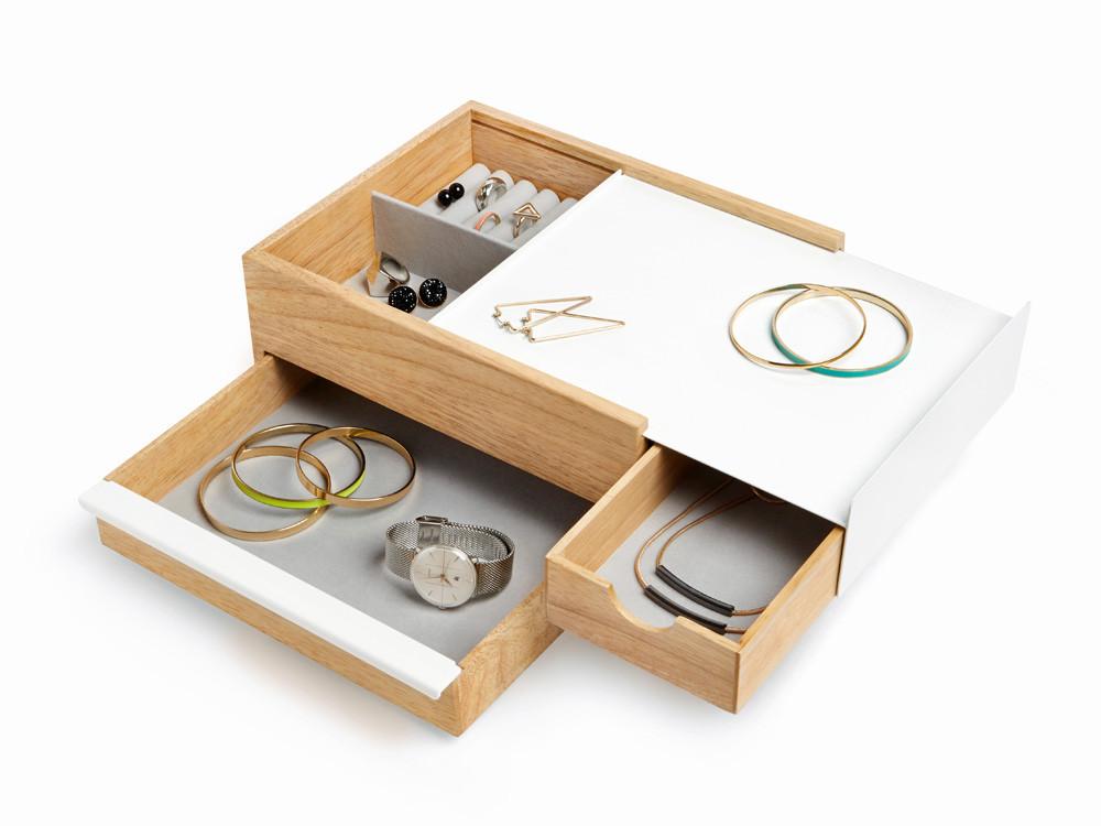 Pudełko na biżuterię Umbra Stowit Natural