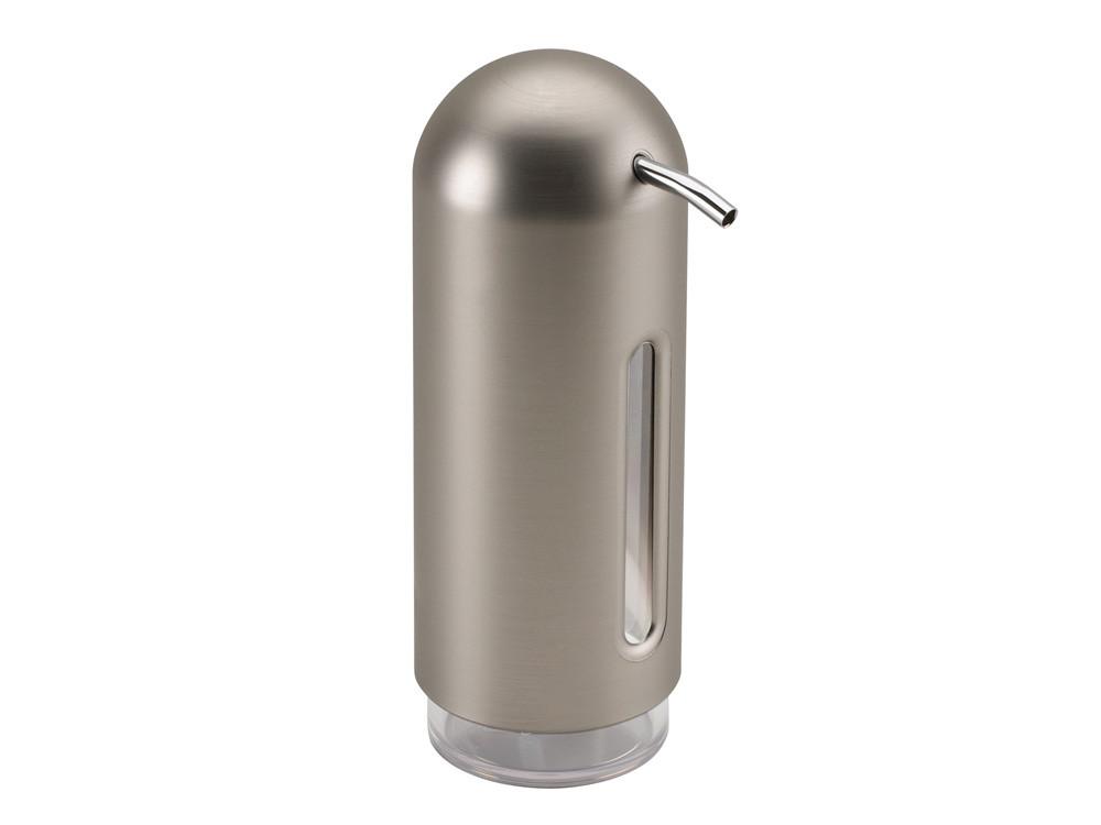Dozownik na mydło lub płyn Umbra Penguin Nickel