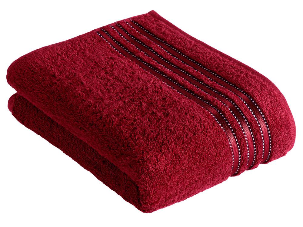 Ręcznik Vossen Cult de Luxe Rubin