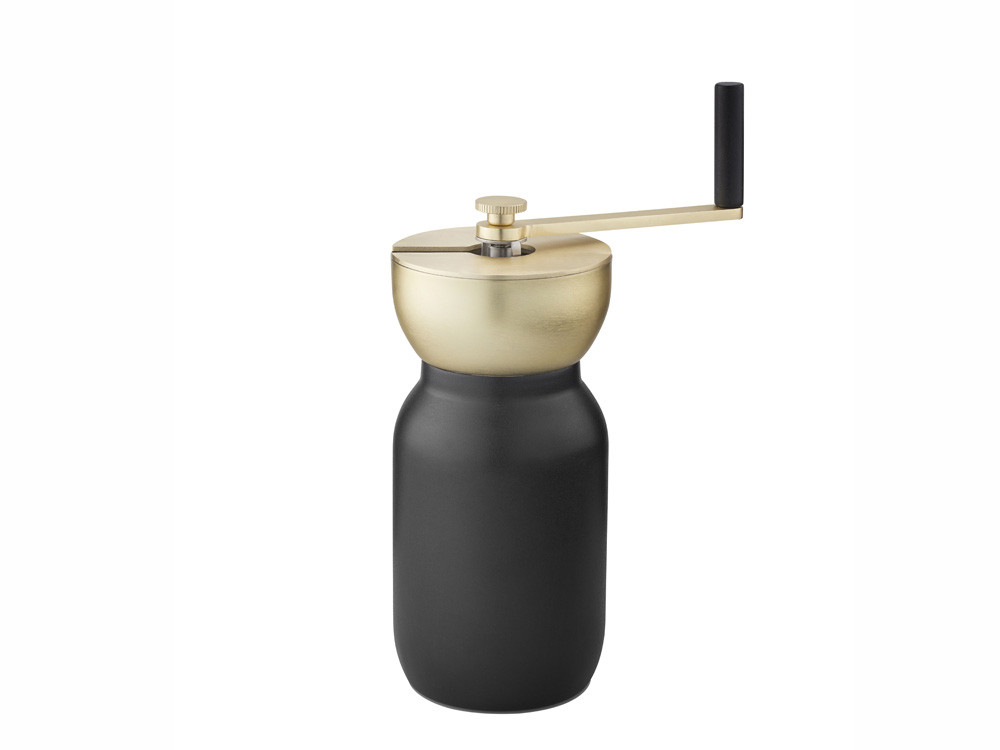 Młynek do kawy ręczny Stelton Nordic Collar Black