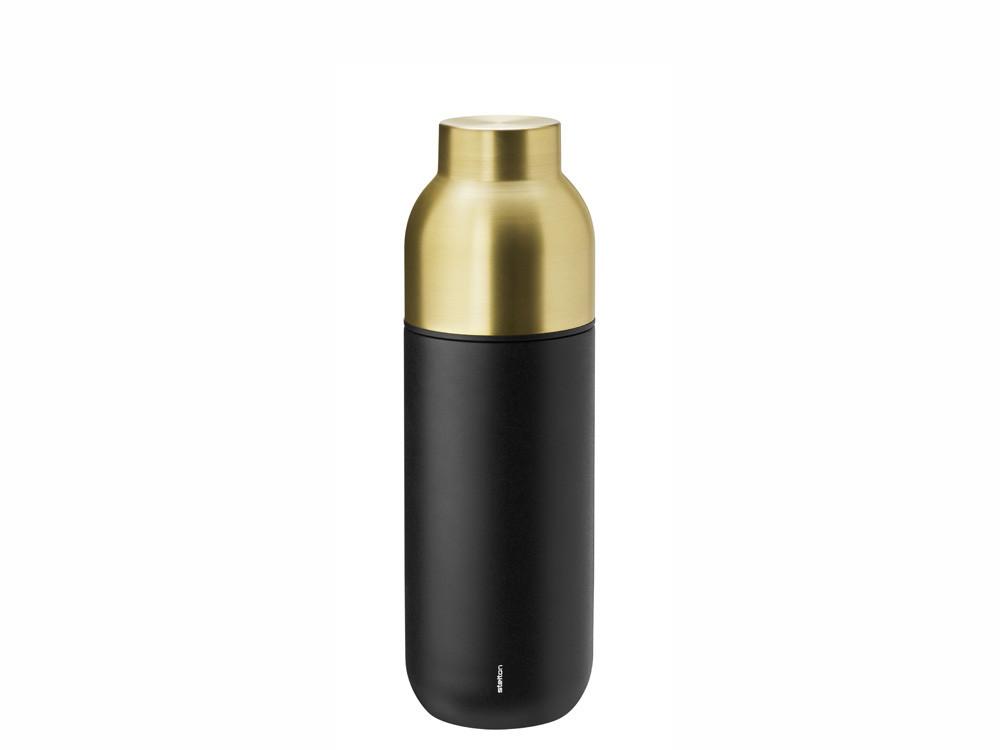 Butelka termiczna/ termos Stelton Nordic Collar Black 0,75L