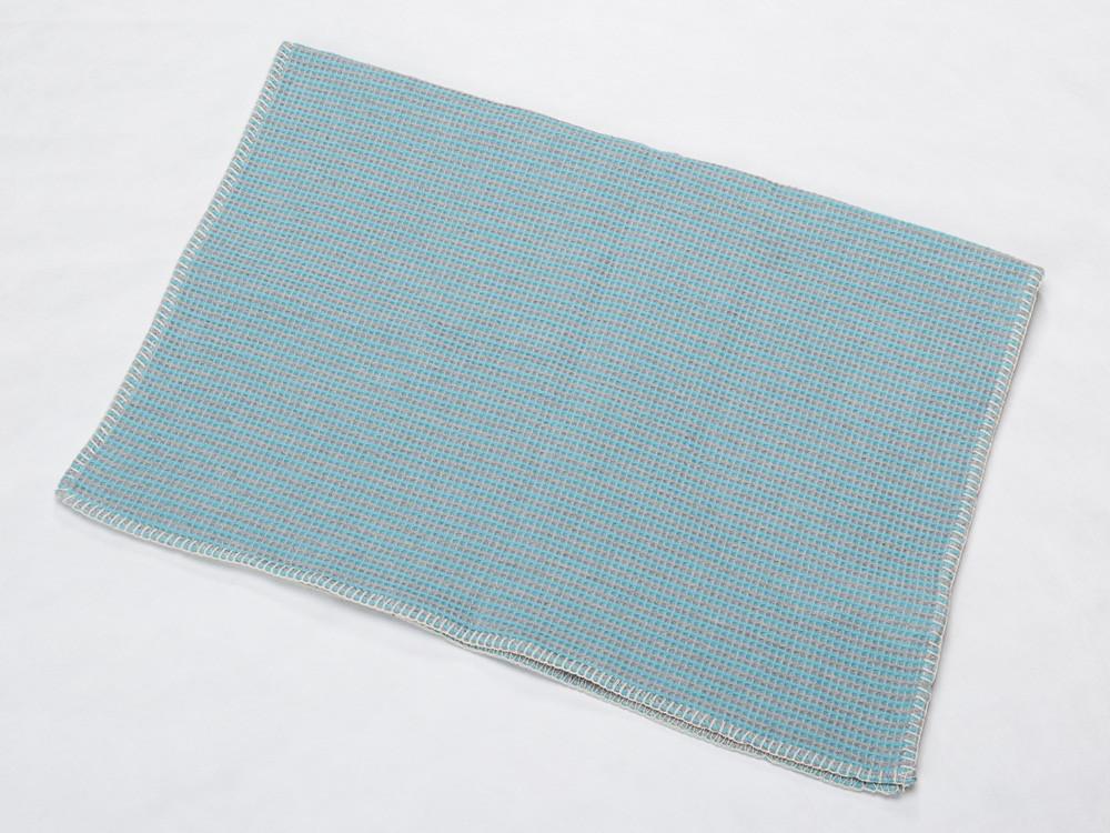 Kocyk DF Lido Mosaic Turquoise 65x90