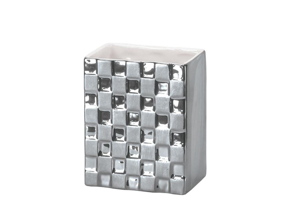Kubek KW Check Silver