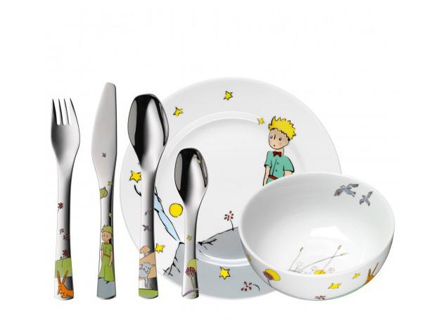 Zestaw dla dzieci x6 WMF Mały Książę Multicolour
