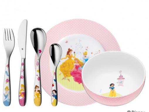 Zestaw dla dzieci x6 WMF Księżniczki Disney Multicolour