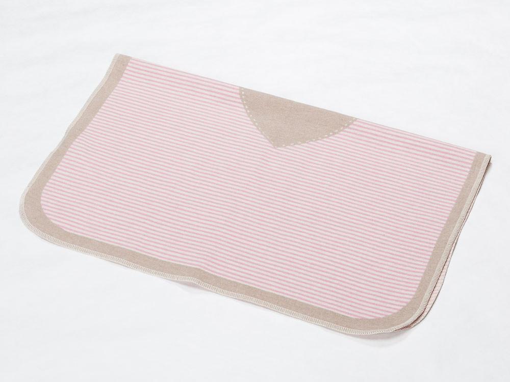 Kocyk DF Juwel My Heart Pink 70x90