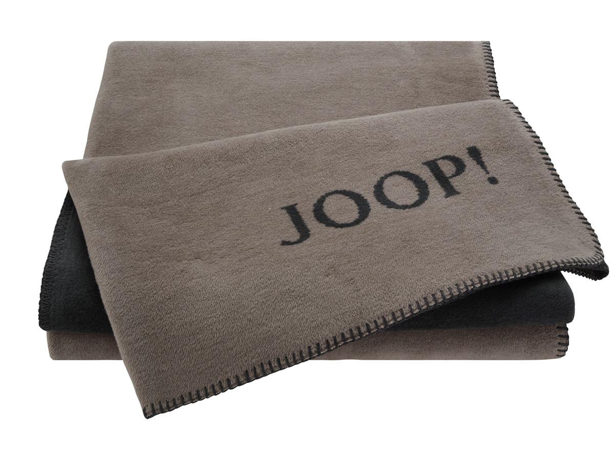 Koc Joop Doubleface Uni Taupe-Antrazit 150x200