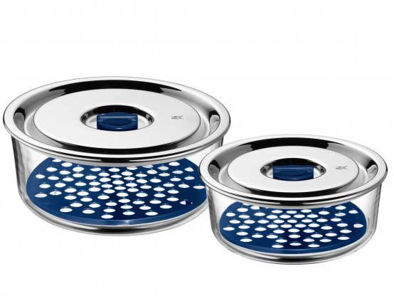 Zestaw pojemników na żywność WMF Top Serve 15x2  0,7 L/1,25 L
