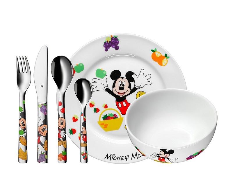 Zestaw dla dzieci x6 WMF Myszka Miki Multicolour
