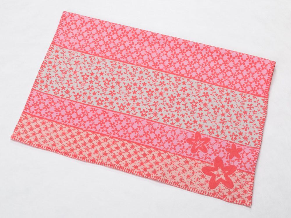 Kocyk DF Lena Flowers Pink 75x100