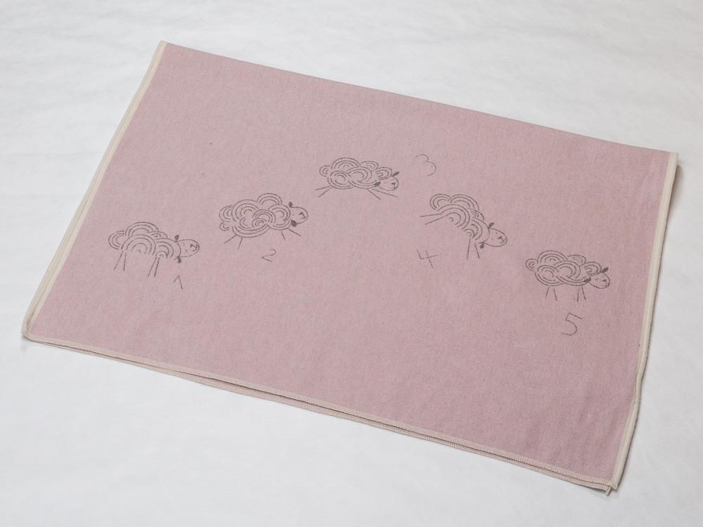 Kocyk DF Eco Sheep Pink 100x140