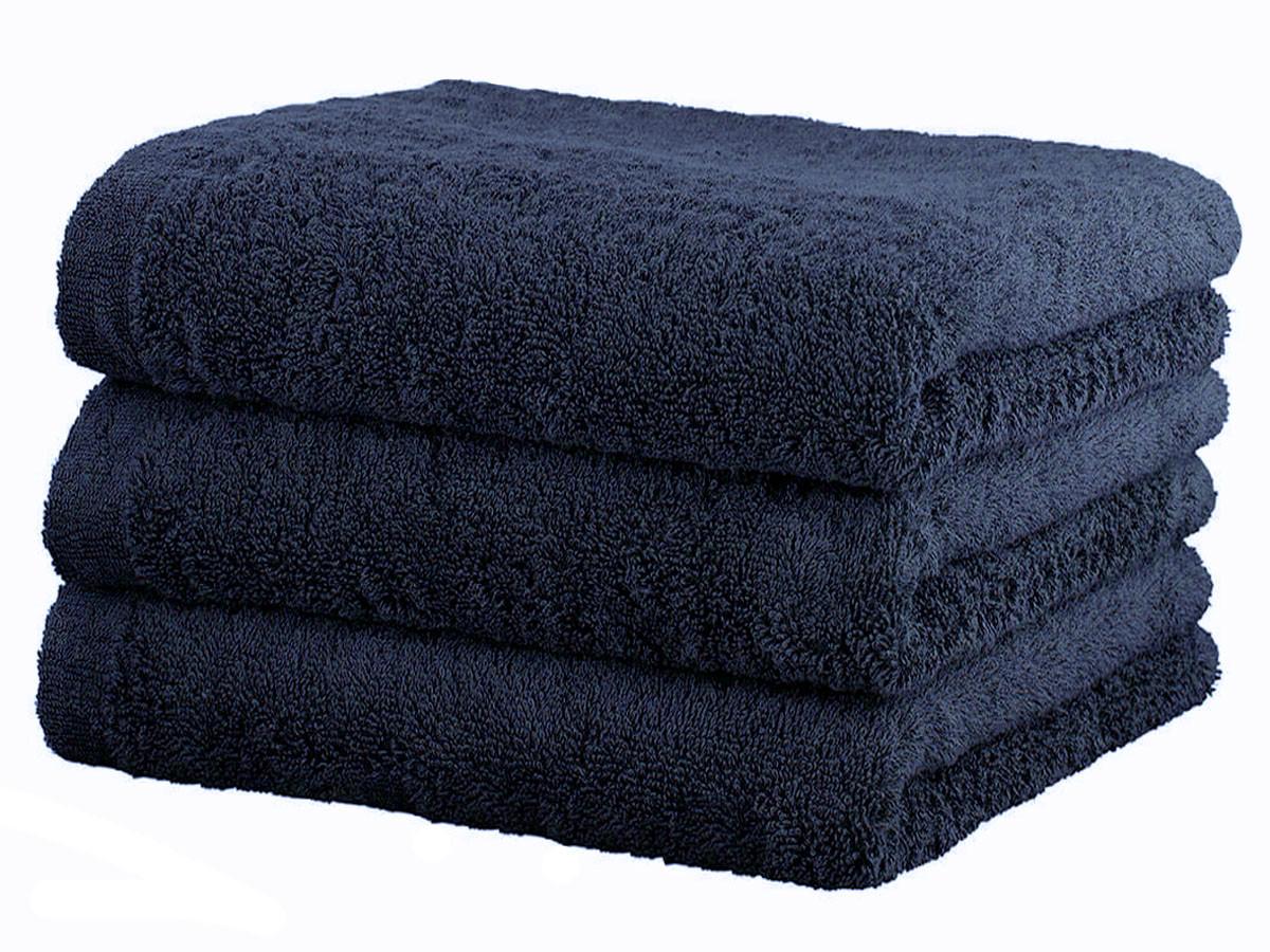 Ręcznik Cawo Lifestyle Uni Navy 30x50