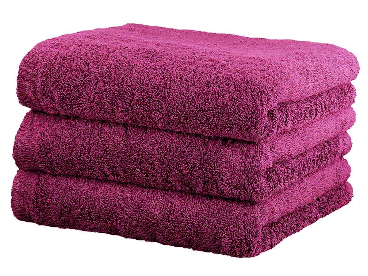 Ręcznik Cawo Lifestyle Uni Pink 70x140