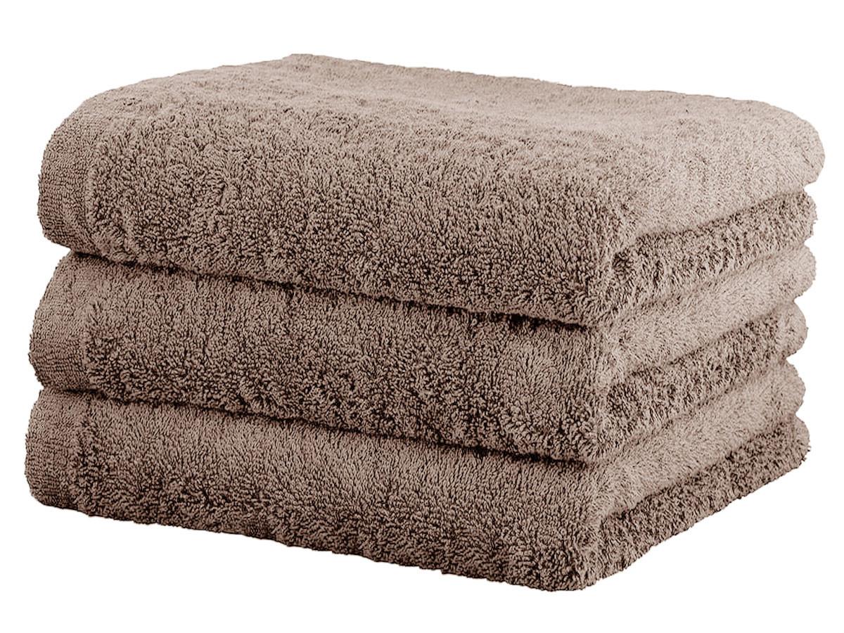 Ręcznik Cawo Lifestyle Uni Mauve 70x140