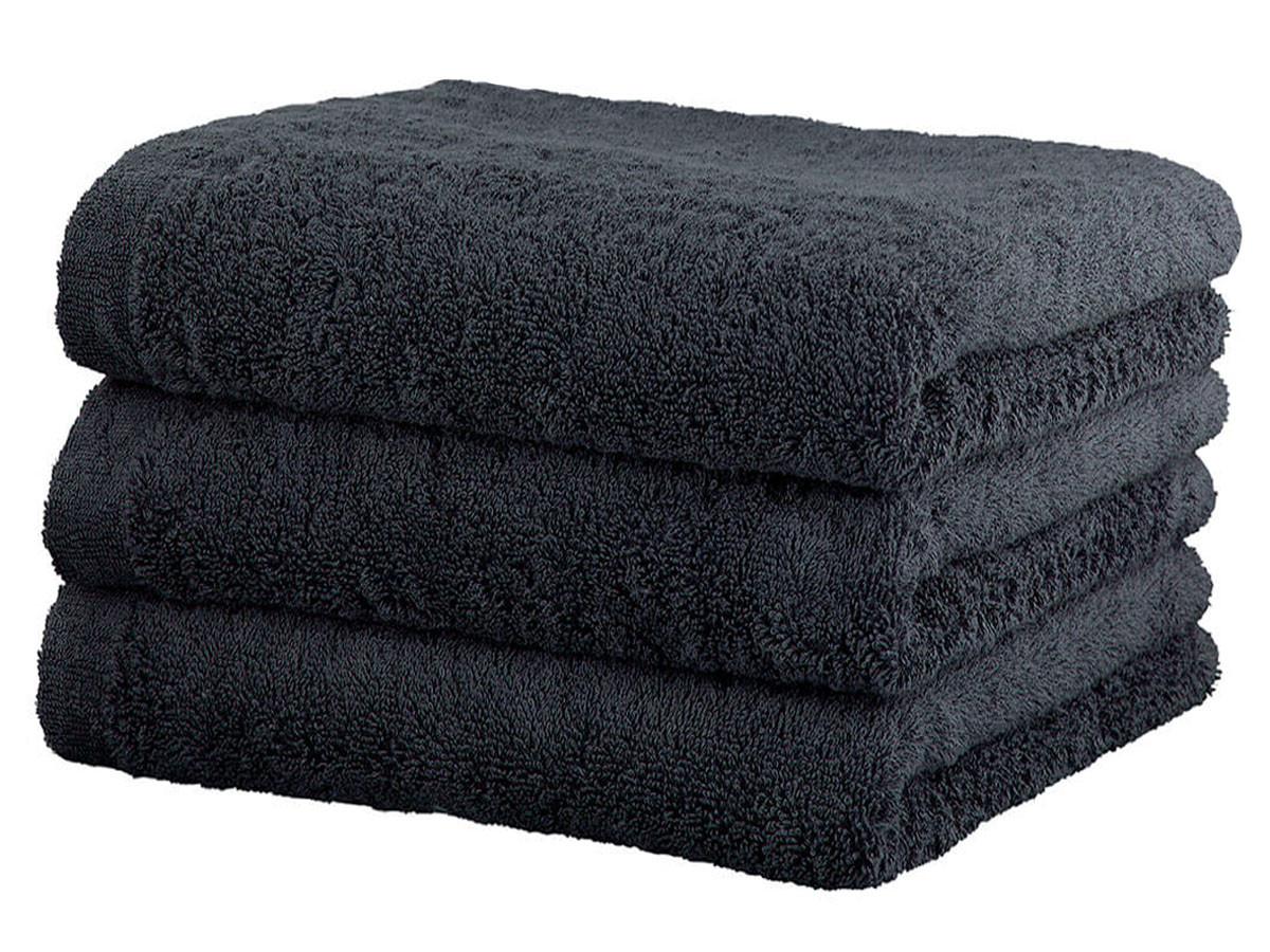 Ręcznik Cawo Lifestyle Uni Antrazit 50x100
