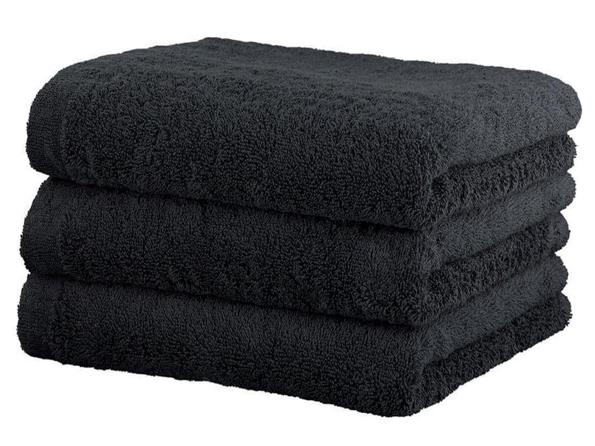 Ręcznik Cawo Lifestyle Uni Black 70x140