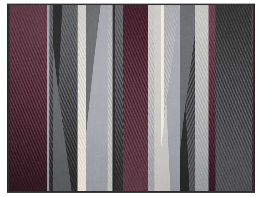 Koc Biederlack Irregular Purple 150x200