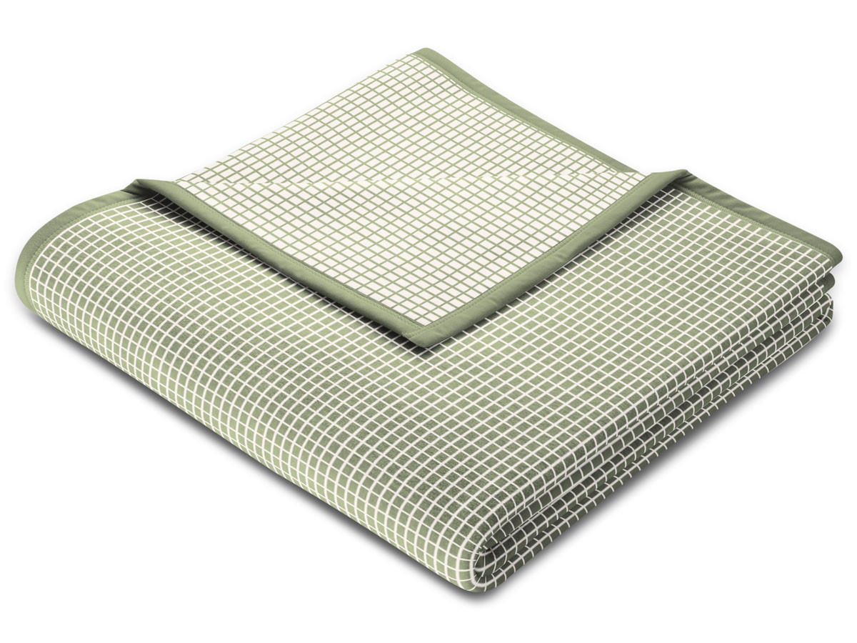 Koc Biederlack Check Salvia Green 150x200