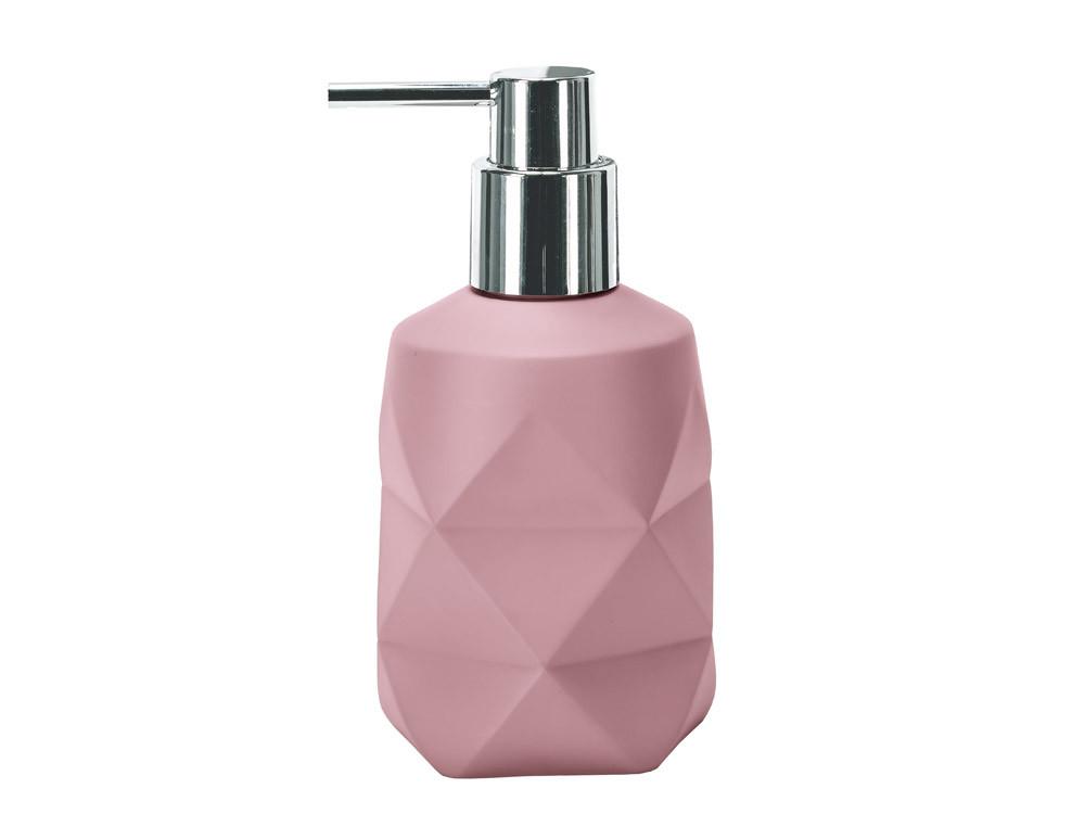 Dozownik do mydła KW Crackle Pink