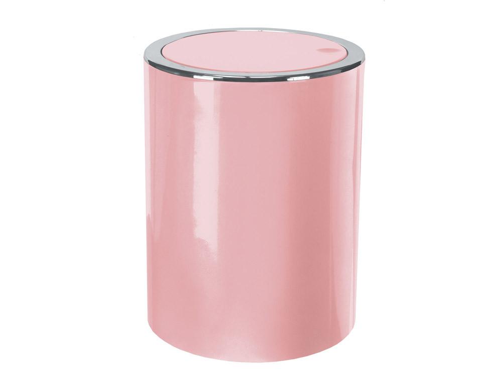 Kosz na śmieci 5L Clap Pink