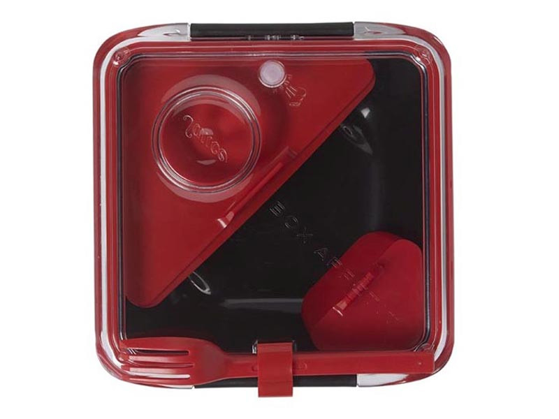 Lunch box Black+Blum Box Appetite Black/Red
