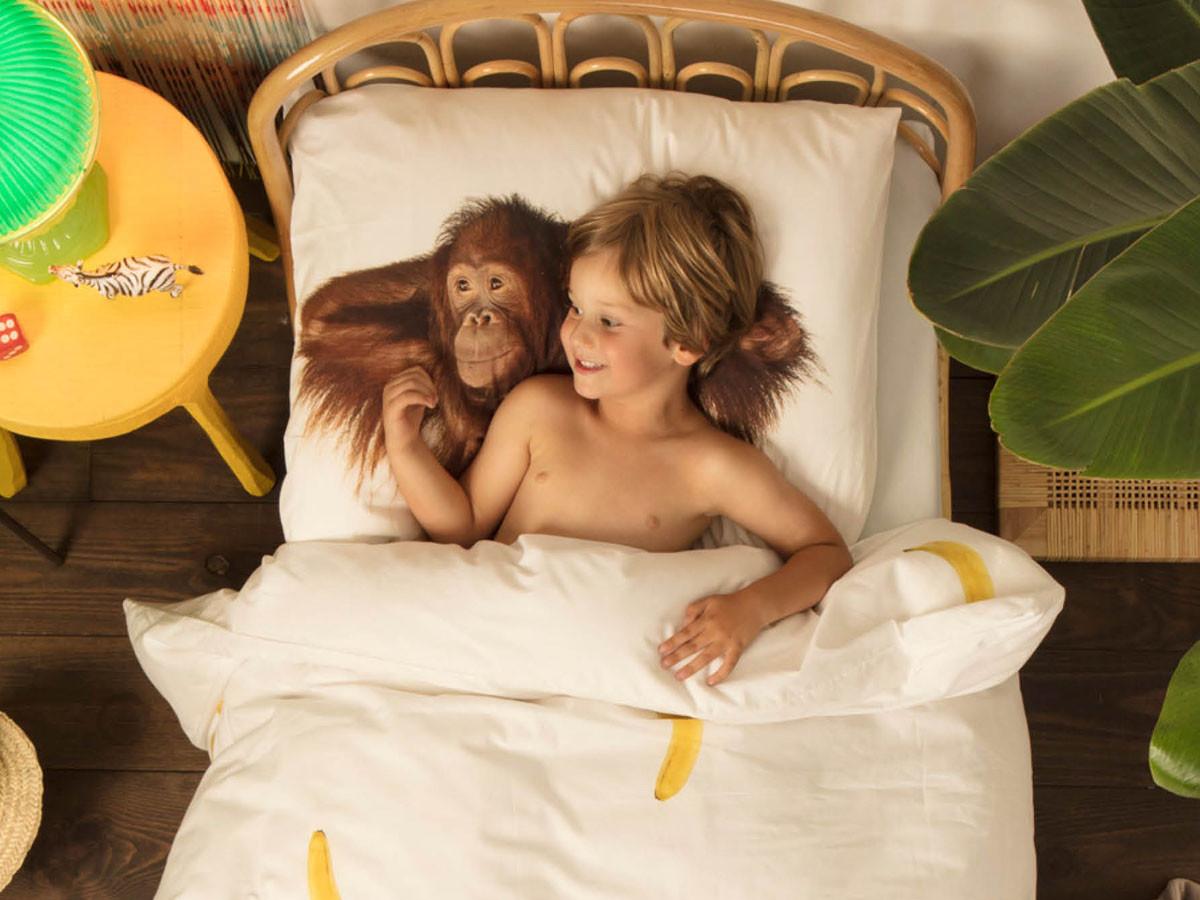 Pościel Snurk Banana Monkey 140x200