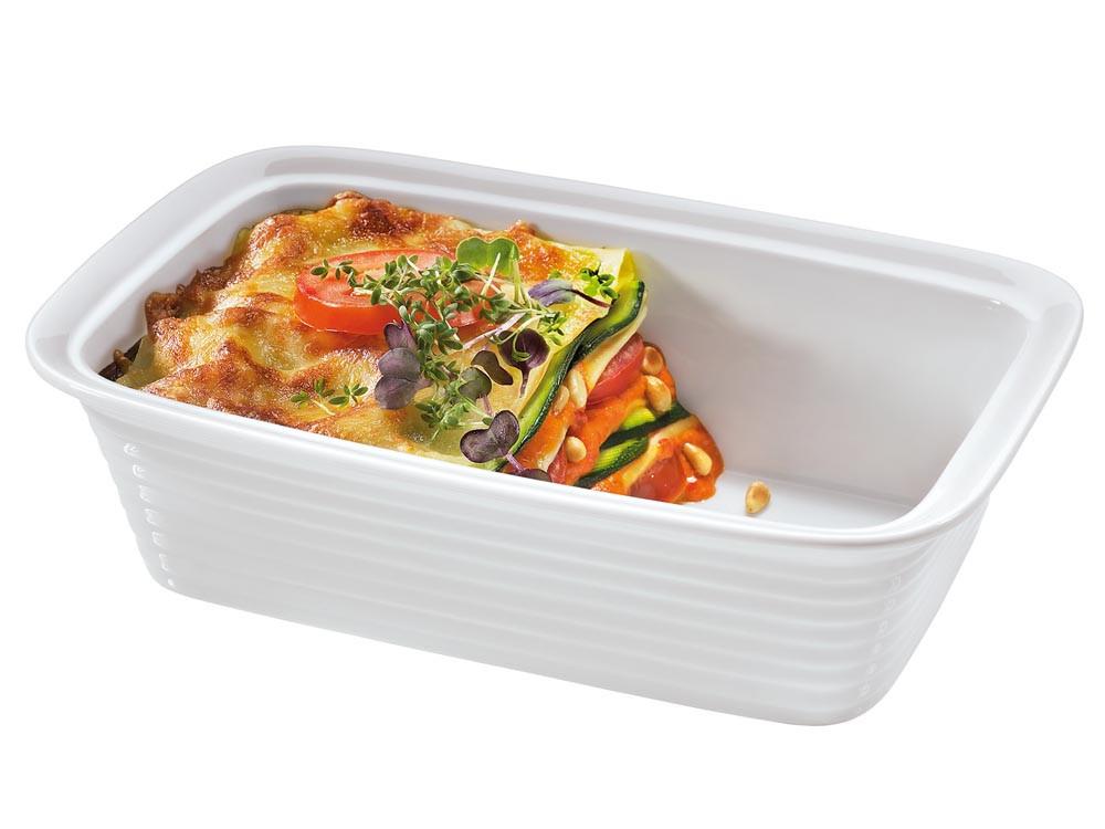 Brytfanna porcelanowa do lasagne Kuchenprofi Burgund M
