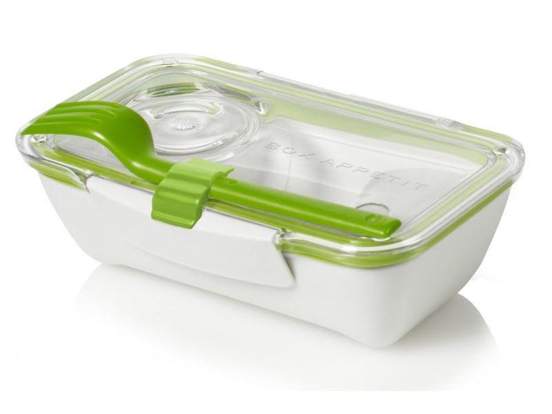 Pojemnik na posiłki Black+Blum Bento Box White/Green