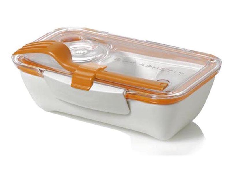 Pojemnik na posiłki Black+Blum Bento Box White/Orange
