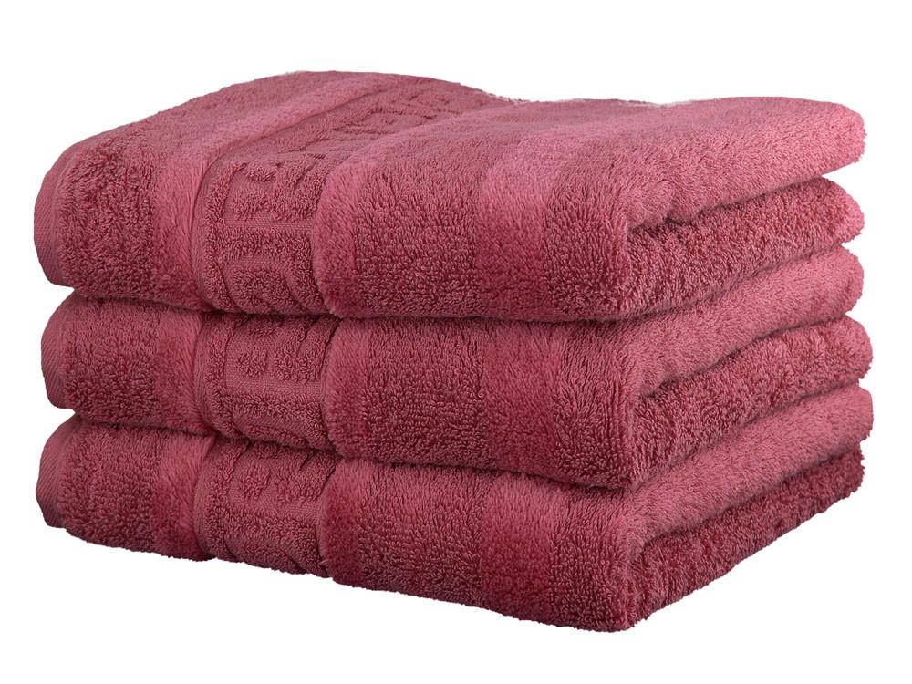 Ręcznik Cawo Noblesse Greek Uni Pink