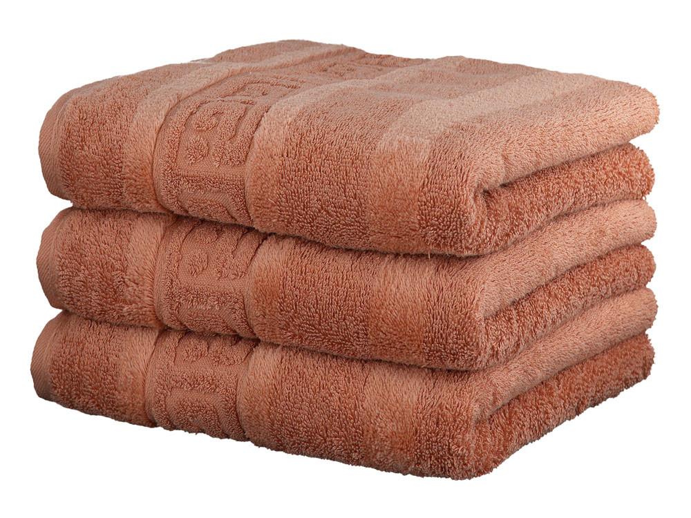 Ręcznik Cawo Noblesse Greek Uni Copper