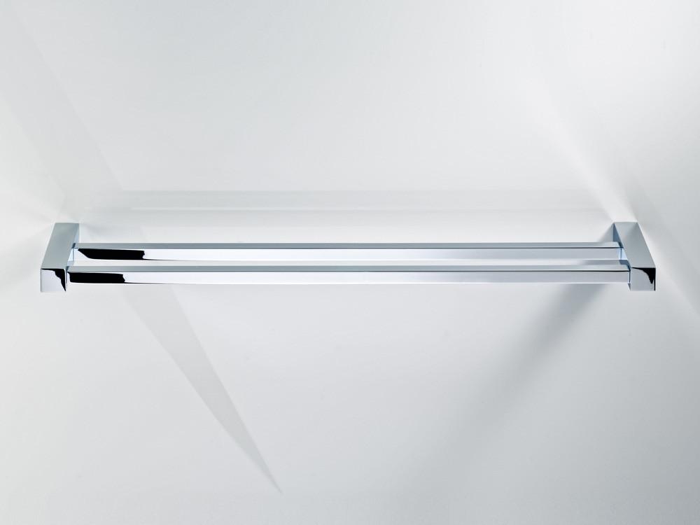 Wieszak/ reling na ręczniki podwójny Decor Walther CO HTD80 Chrome