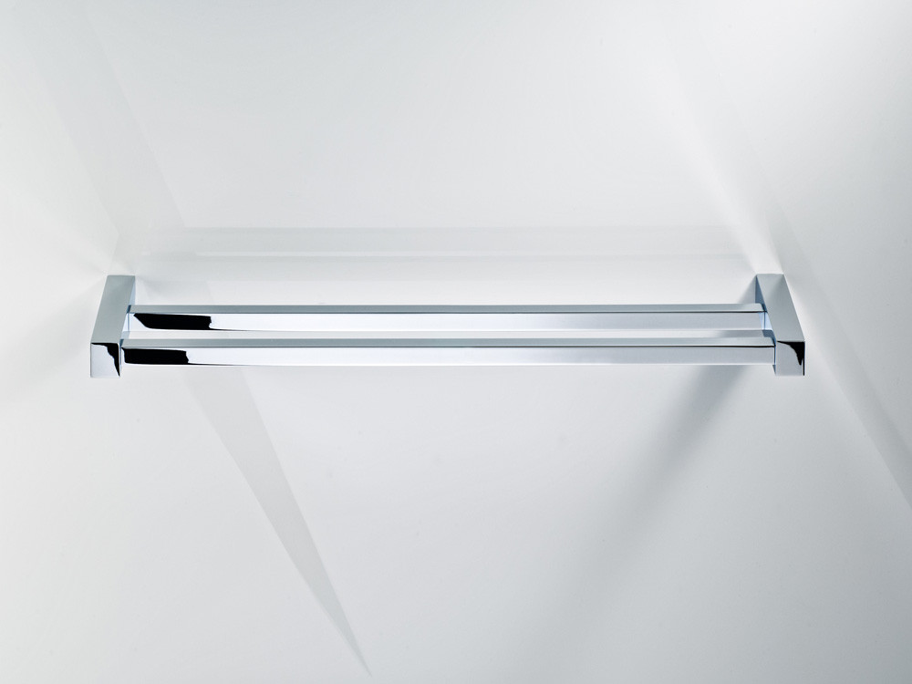 Wieszak/ reling na ręczniki podwójny Decor Walther CO HTD60 Chrome