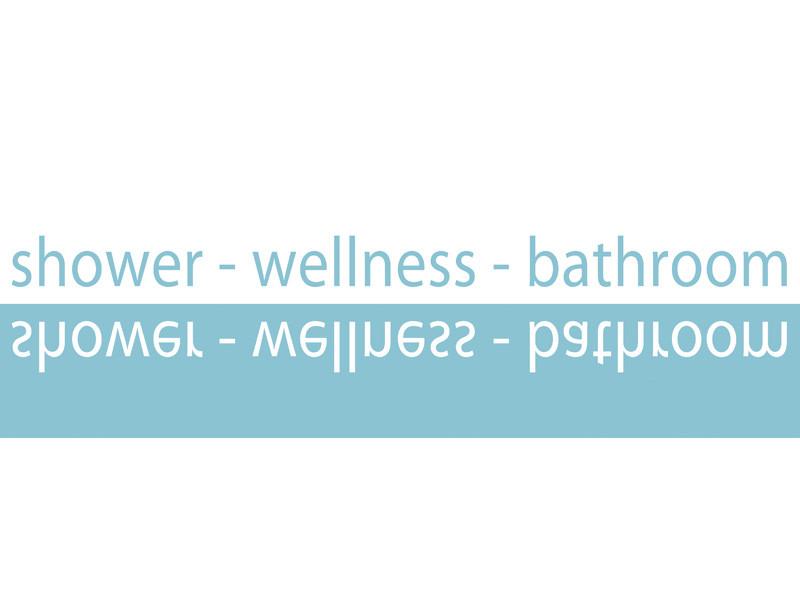Dekoracja łazienkowa Shower Slim